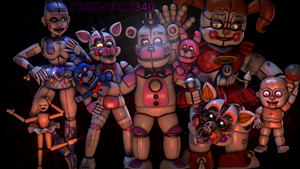 (SFM_FNaF) - The Gift Of Funtime! - by PixelKirby340