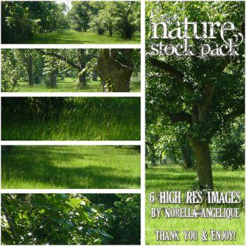 Nature Pack by angellella-stock