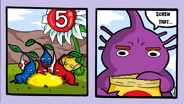 Pikmin 3 by Dominosaur