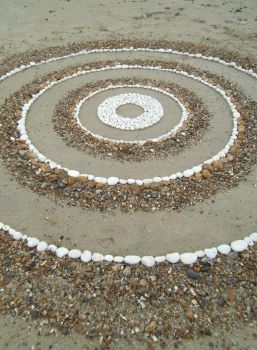 Concentric circles by Dishtwiner