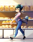 Working At The Bakery by erica693992
