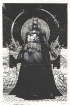 Batman San Diego- Lucca commission 2011 by simonebianchi