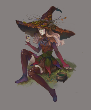 October Witch adopt AUCTION[CLOSED] by opi-um
