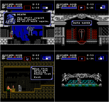 Castlevania: Symphony of the Night - NES Edition 2 by Kradakor