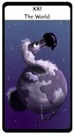 Tarot Dodo World by hippogriffon