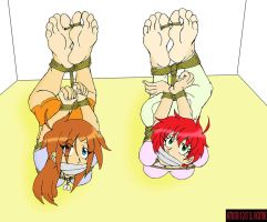 Hogtied and Helpless by DLShowtime