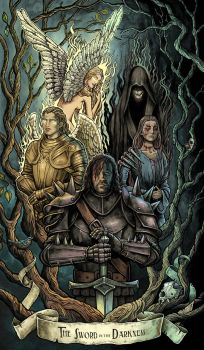 The Sword in the Darkness by bubug