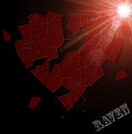 Shattered Glass Heart by GothicRavenMidnight