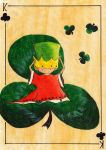 King of clubs by gintele