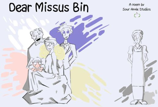 Missus Bin Official Art by Sour-Apple-Studios