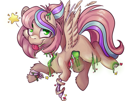 [Commission] Timed-1h30 CandyGore Ciy by CutePencilCase