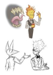 Undertale: Grillby's Demon Mouth by NeroStreet
