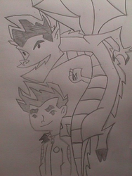 jake long: The american dragon by mitsi