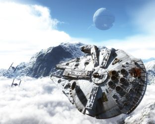 YT-1300 aka Millenium Falcon by TheStonePortal