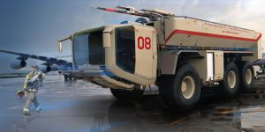 Firefight Truck by sasa454