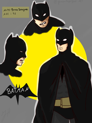 Batman  by greentigergirl