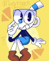 Mugman! :3 by michanpc