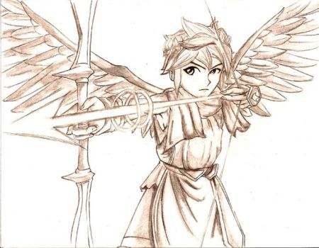 Chrysaetos Pteron 9 14 Pit Of Kid Icarus By CaptainDeath
