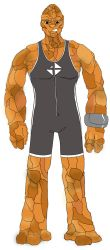 The Thing / Ben Grimm Redesign by JohnConklin