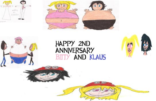 Happy 2nd Anniversary Bitty and Klaus by jonwii