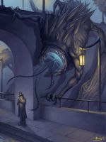 a Big Horror by Steamhat