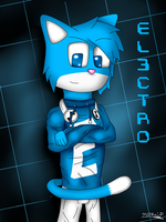 El3ctro the cat by ChristianSixSixSix
