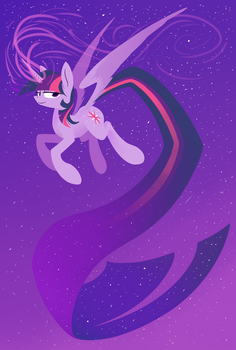 Twilicorn by Underpable