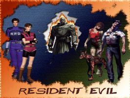 Resident Evil 2 by leand