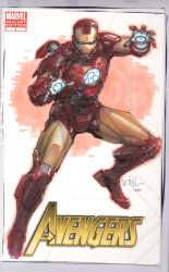 Iron-man commission by leinilyu