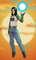 Android17 by scottssketches
