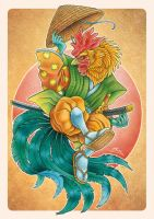 Rooster by MacGreen