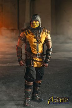 Scorpion Mortal Kombat X Cosplay 4 by ArtisansdAzure