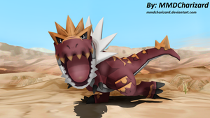MMD Pokemon Newcomer - Tyrantrum +DL+