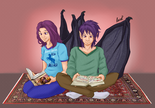 [Commission] Deborvak and Vela by MasterFranny