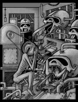 Humachines by offermoord