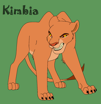 Kimbia - Quick-Footed Fury by ReddRedPanda