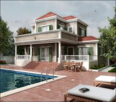 villa 3d by Ertugy
