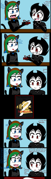 Happy Birthday Bendy comic Page 2 by Butch829