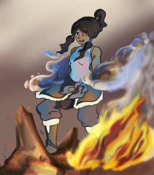 Bending Korra by LadyProphet