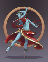 Twi'lek Dancer - Commission by NuBearEull