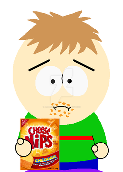 Sean Coover eating Cheese-Nips by AmazingNascar221
