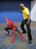 Spidey and Luke Cage by TS-Calibrate
