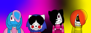 Marine's Undertale Ocs by Marionette175