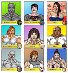 Draw your friends' OCs in your style by LordKelvin