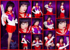 Super Sailor Mars by AmmieChan
