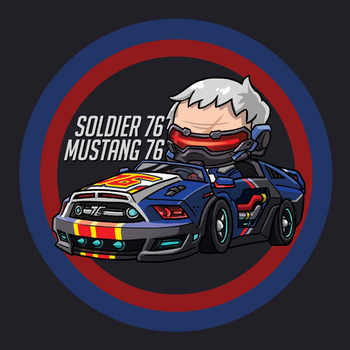 Soldier 76 by Agito666