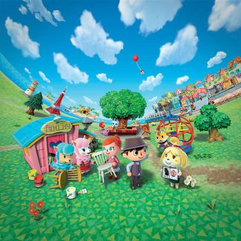 Animal Crossing New Leaf - BoxArt Wallpaper by Kharthoffen