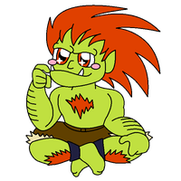 Pretty Blanka by MartAnimE