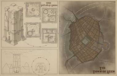 The Great Dwarven Tower by eViLe-eAgLe