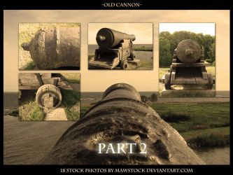 Old Cannon Part 2 by mawstock